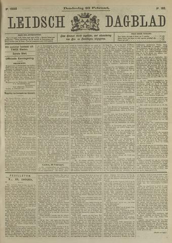 Leidsch Dagblad 1911-02-23
