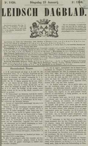 Leidsch Dagblad 1866-01-23