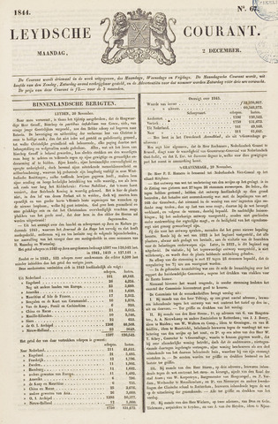 Leydse Courant 1844-12-02