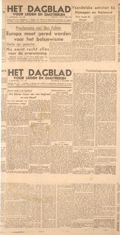 Dagblad voor Leiden en Omstreken 1944-11-13