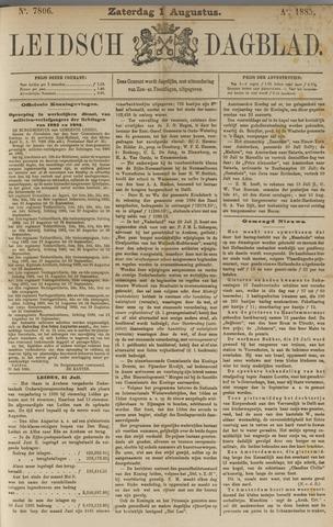 Leidsch Dagblad 1885-08-01