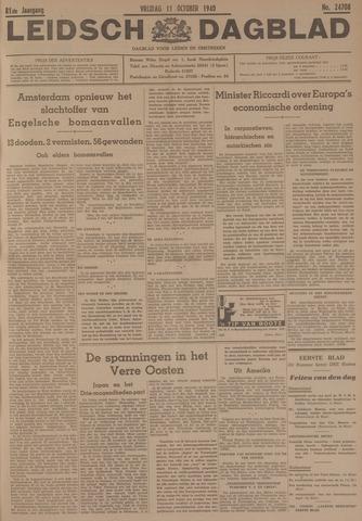 Leidsch Dagblad 1940-10-11
