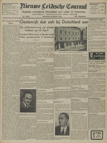 Nieuwe Leidsche Courant 1938-03-14