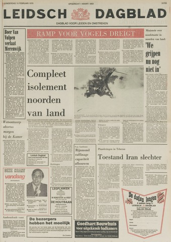 Leidsch Dagblad 1979-02-15