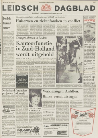Leidsch Dagblad 1977-06-18