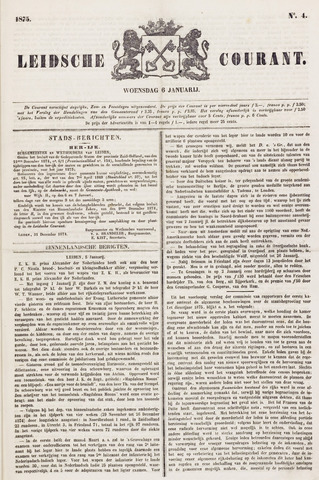 Leydse Courant 1875-01-06