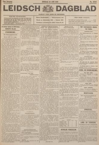 Leidsch Dagblad 1930-06-10
