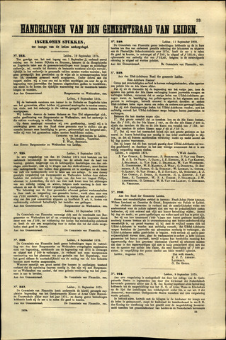 Handelingen van de Raad 1875-09-10