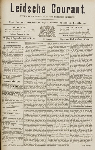 Leydse Courant 1885-09-25