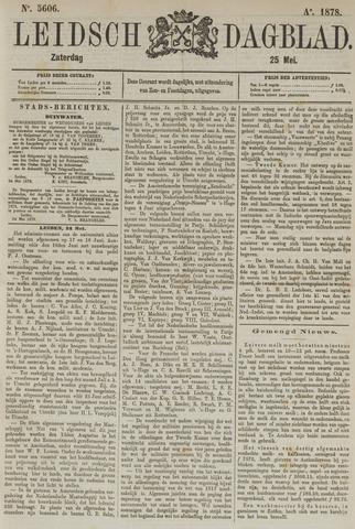 Leidsch Dagblad 1878-05-25