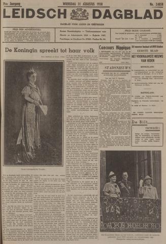 Leidsch Dagblad 1938-08-31