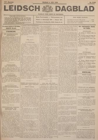 Leidsch Dagblad 1930-07-04