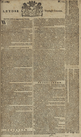 Leydse Courant 1765-10-11