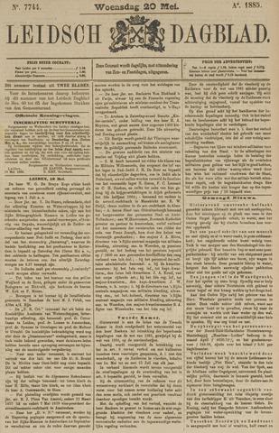 Leidsch Dagblad 1885-05-20
