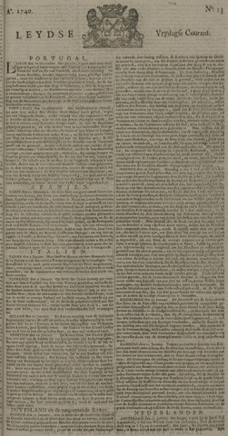 Leydse Courant 1740-01-29