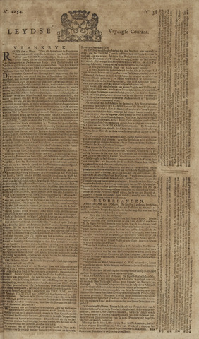 Leydse Courant 1754-03-29