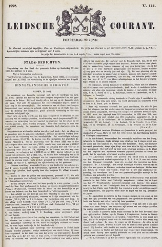 Leydse Courant 1882-06-22