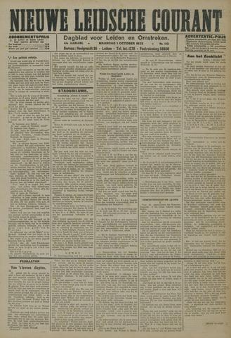 Nieuwe Leidsche Courant 1923-10-01