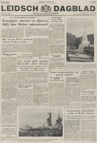 Leidsch Dagblad 1956-04-24