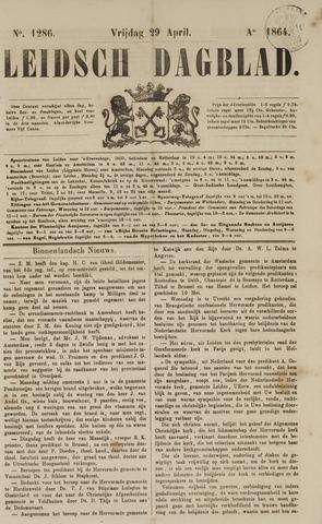 Leidsch Dagblad 1864-04-29
