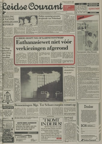 Leidse Courant 1985-12-21