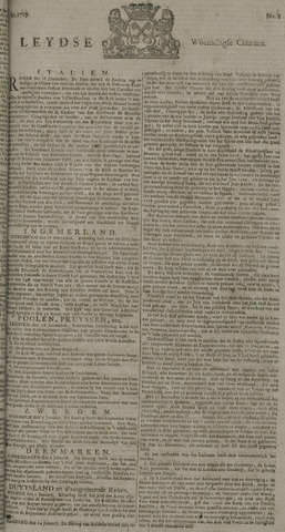 Leydse Courant 1729-01-19