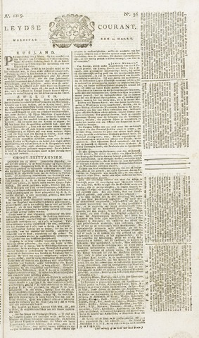 Leydse Courant 1819-03-24