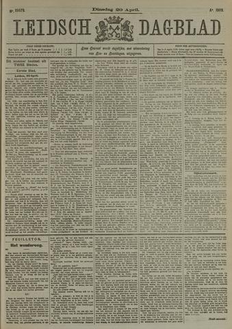 Leidsch Dagblad 1909-04-20