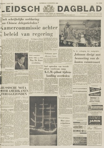 Leidsch Dagblad 1966-08-06