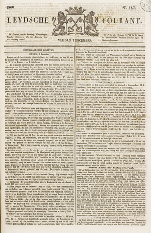 Leydse Courant 1860-12-07