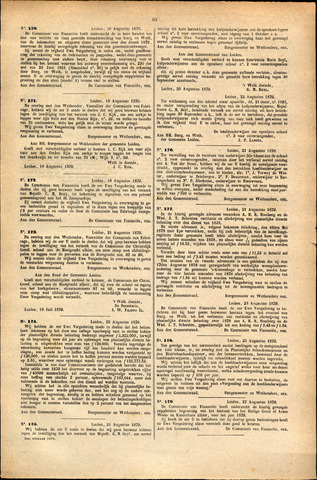 Handelingen van de Raad 1879-08-16