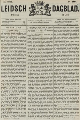 Leidsch Dagblad 1868-07-14