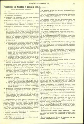 Handelingen van de Raad 1936-12-21