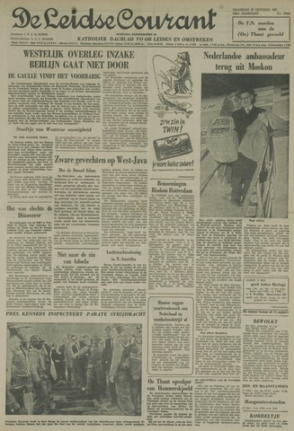 Leidse Courant 1961-10-16