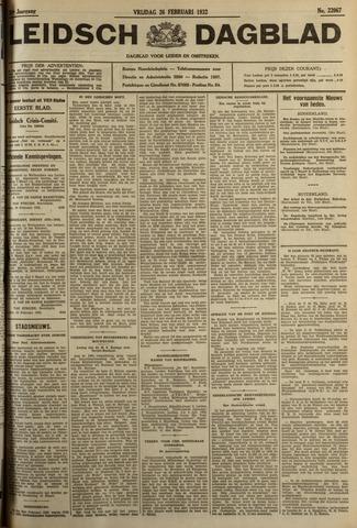Leidsch Dagblad 1932-02-26