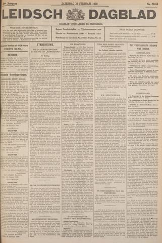 Leidsch Dagblad 1930-02-22
