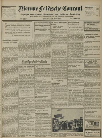 Nieuwe Leidsche Courant 1938-06-25