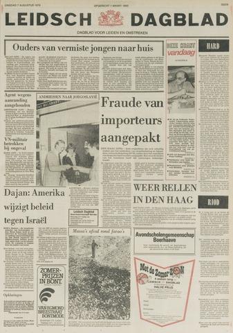Leidsch Dagblad 1979-08-07