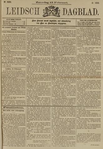 Leidsch Dagblad 1890-02-15