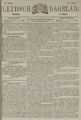 Leidsch Dagblad 1878-01-21