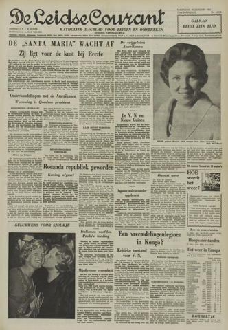 Leidse Courant 1961-01-30