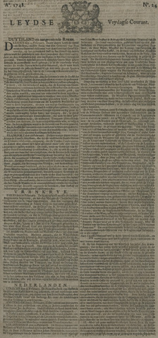 Leydse Courant 1748-02-23