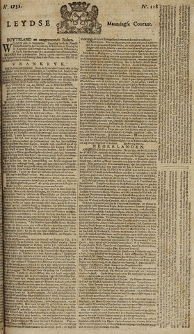 Leydse Courant 1752-10-02