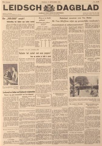 Leidsch Dagblad 1947-09-19
