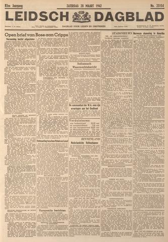 Leidsch Dagblad 1942-03-28