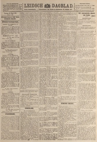 Leidsch Dagblad 1921-03-19