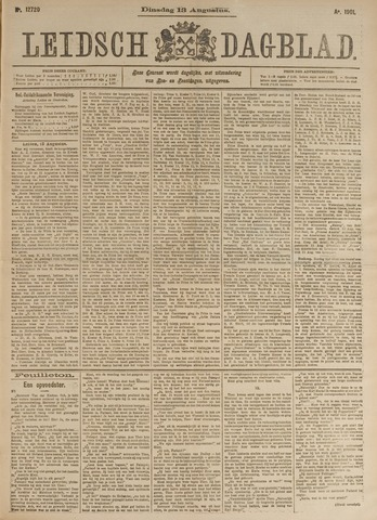 Leidsch Dagblad 1901-08-13