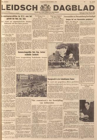 Leidsch Dagblad 1949-09-09