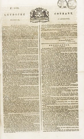 Leydse Courant 1841-08-16