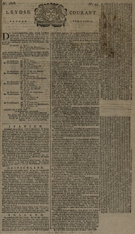 Leydse Courant 1808-04-08